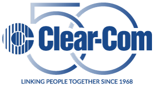 Clear-Com 50th Anniversary Logo